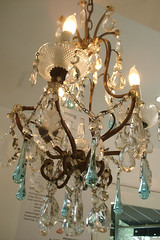 Shabby Chandelier | by such pretty things