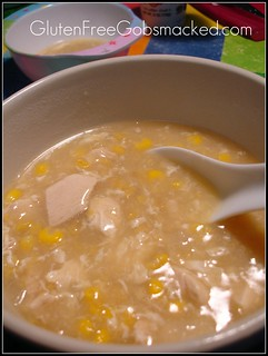 GF: Chinese Chicken & Corn Chowder | by Kate Chan
