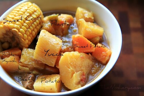 Sancocho Header Anatomy | by The Noshery