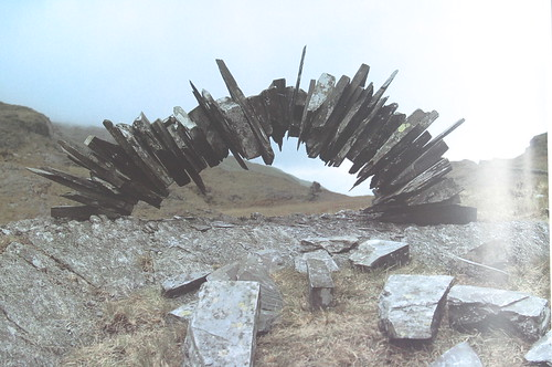 Andy Goldsworthy 09 slate arch | Marc McAlester | Flickr