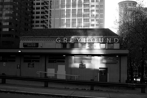 Seattle Greyhound bus station | by Andy Oakley