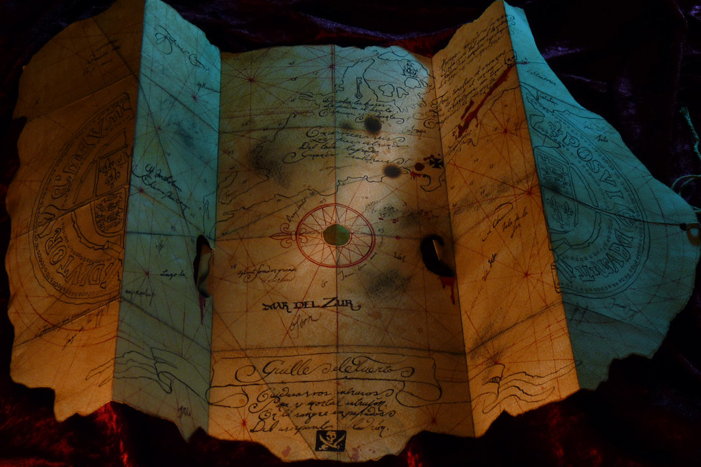 goonies treasure map goonies replica prop of the treasure flickr