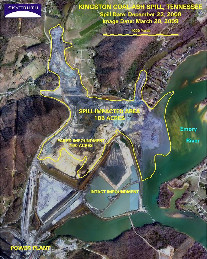 Kingston Coal-Ash Spill, March 20, 2009   Aerial survey phot…   Flickr