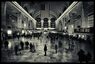 Shadows of Grand central | by ::YS::