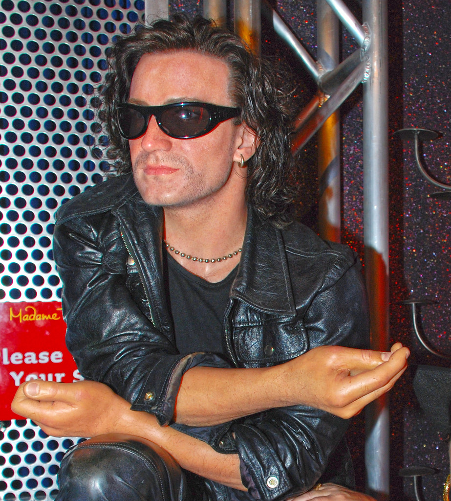 Bono at Madame Tussaud's Wax Museum in Las Vegas Nevada ...