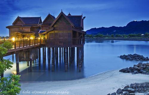 langkawi blue hour