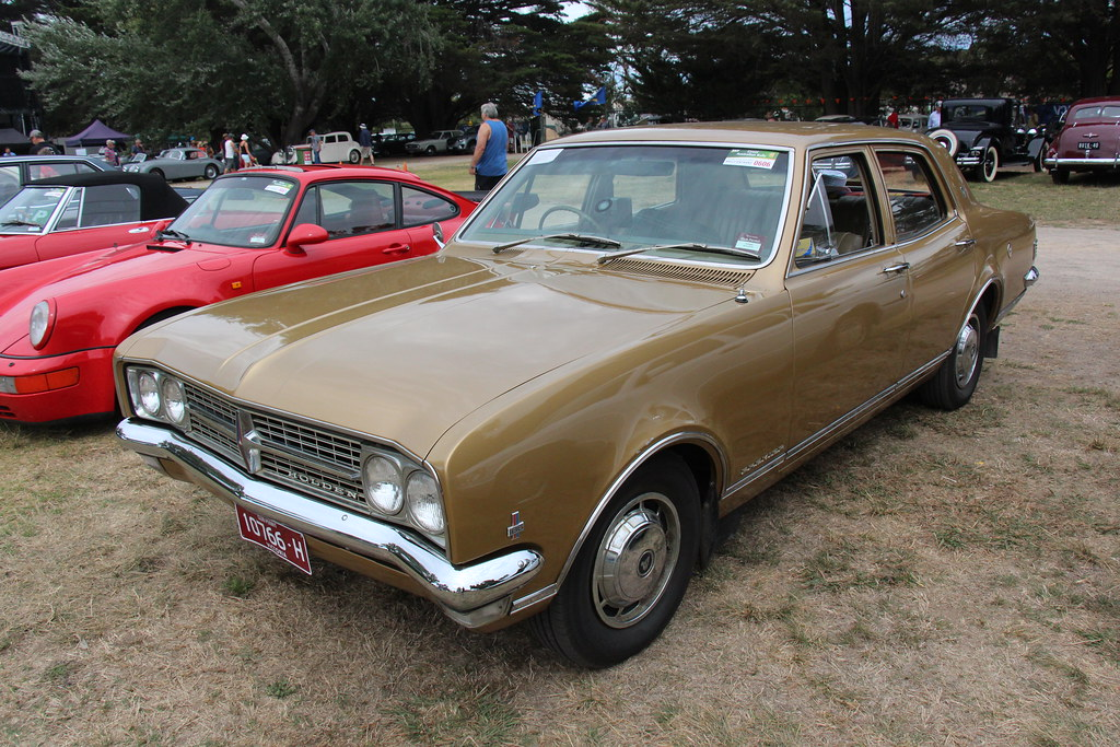 1968 Holden Hk Premier Sedan Inca Gold The Hk Holden