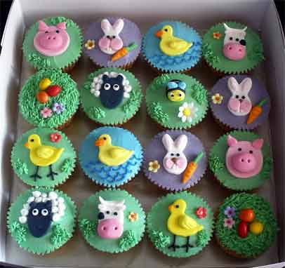 More Farm Animals Cupcakes Tracey Chooi Flickr