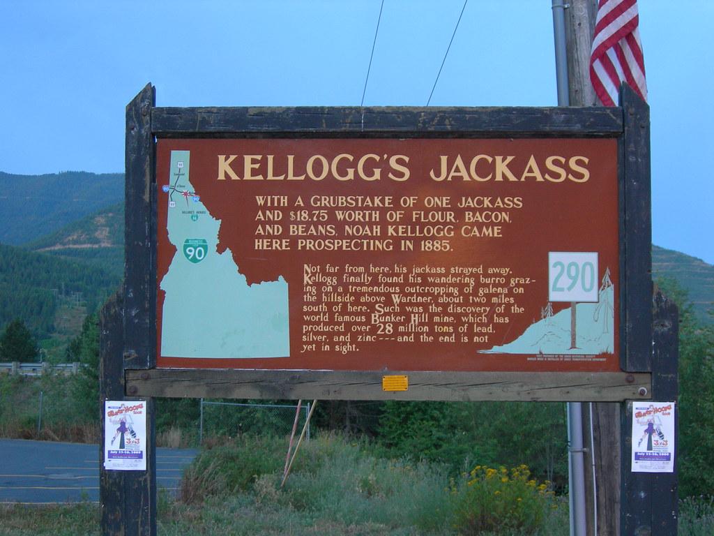 Kellogg S Jackass Historic Marker Kellogg Idaho Jimmy Emerson Dvm Flickr