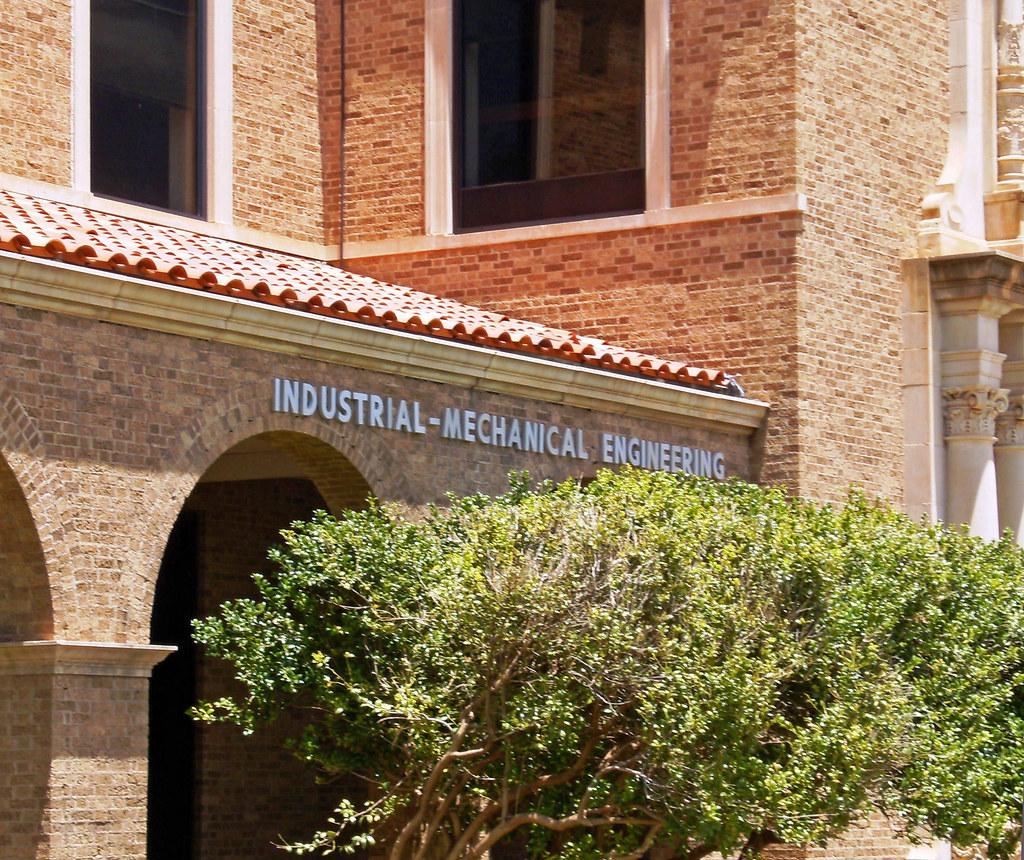 Texas Tech Industrial Engineering Building