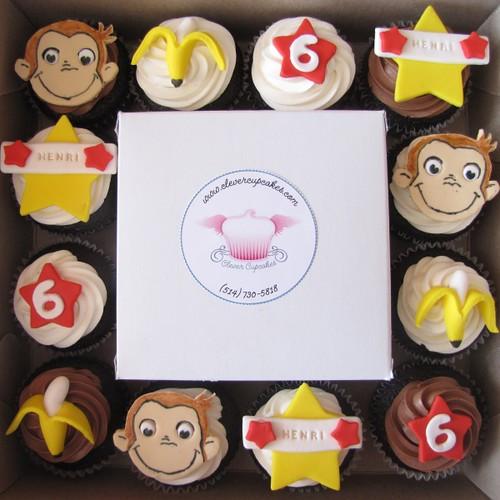 Curious George Birthday Cake Decorations