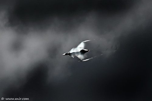 Tempestuous Hungarian Air Force SAAB JAS 39 Gripen RIAT 2009 | by xnir