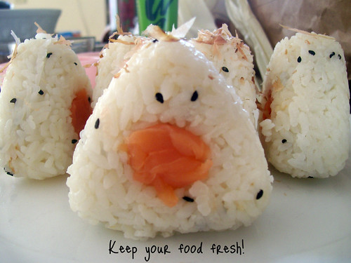 Smoked Salmon Onigiri | by Indie Bands With a Mission