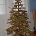 DIY fleece Christmas tree