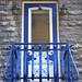 Blue Balcony