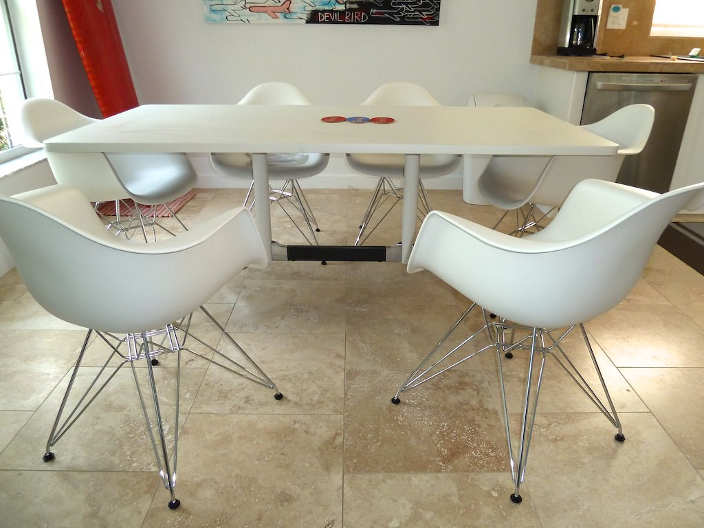 Eames Molded Plastic Chair Knock Eames Plastic Rocker