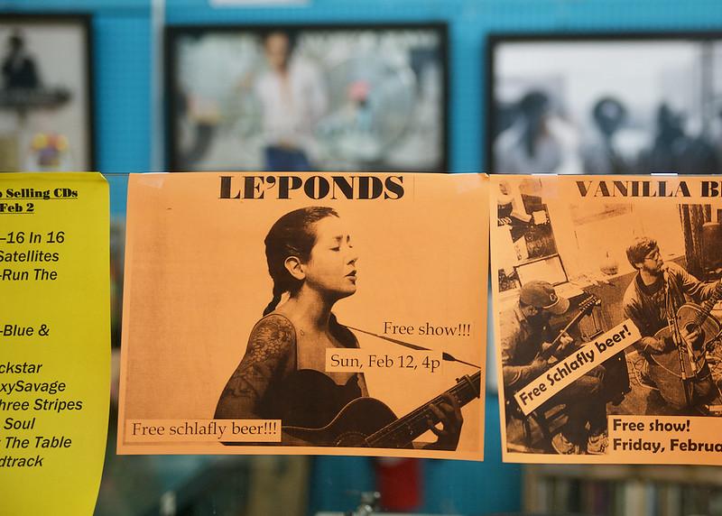 Le'Ponds @ Vintage Vinyl