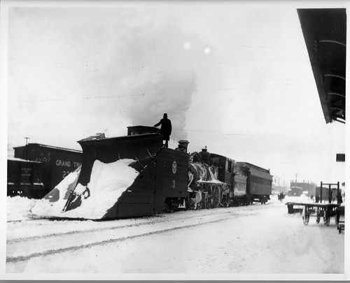 O&W Snow Plow #3 | by Cornell University Library