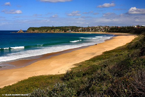 Diamond Beach Australia  city photos gallery : ... Beach, Hallidays Point, From Redhead, NSW Australia | by Black Diamond