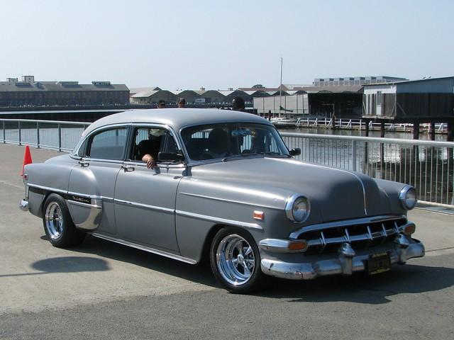 1954 chevrolet bel air 4 door sedan custom 39 dxx 374 39 1