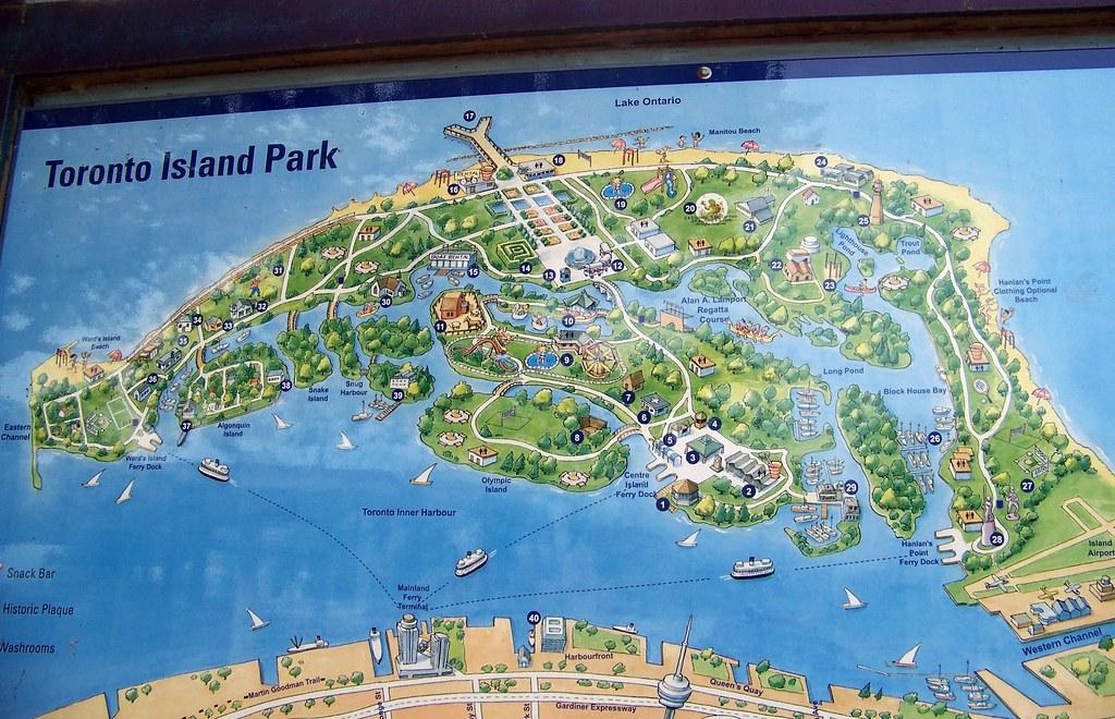 how to go to toronto island