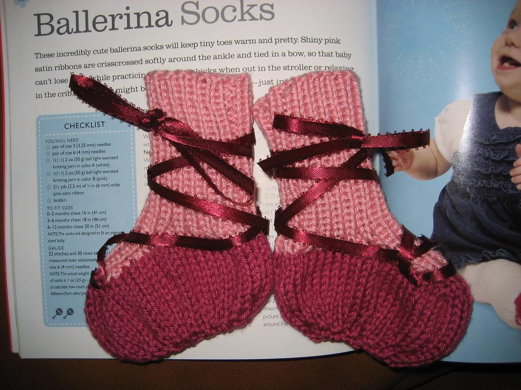 Baby Ballerina Socks Rebecca Bush Flickr