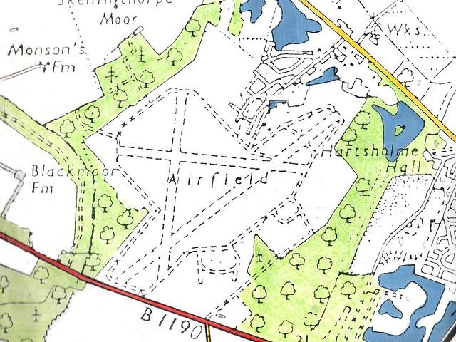 Raf Skellingthorpe Plan