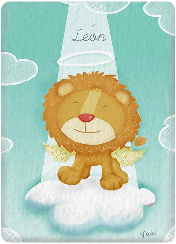 like a lion | by vae!