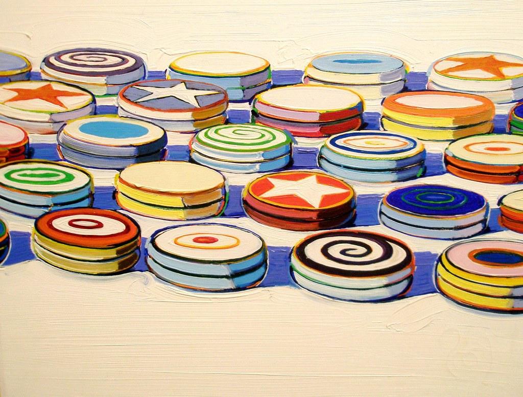 Wayne Thiebaud 1963 'Yo-Yos', Albright-Knox Art Gallery, B ...