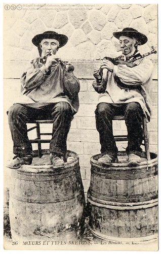 The Breton Pipers (c.1913) | by postaletrice