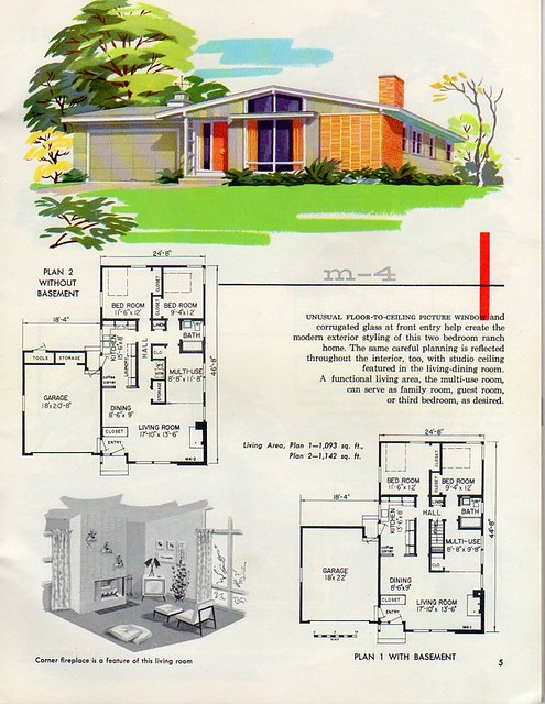 3912018718_6a69e2659b_z homes and plans of the 1940's, 50's , 60's and 70's flickr,Better Homes And Gardens House Plans 1950