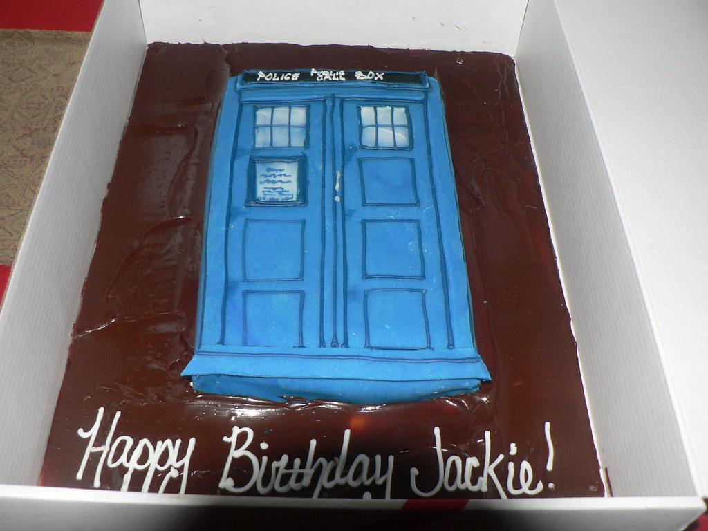 Tardis Birthday Cake Wollongong