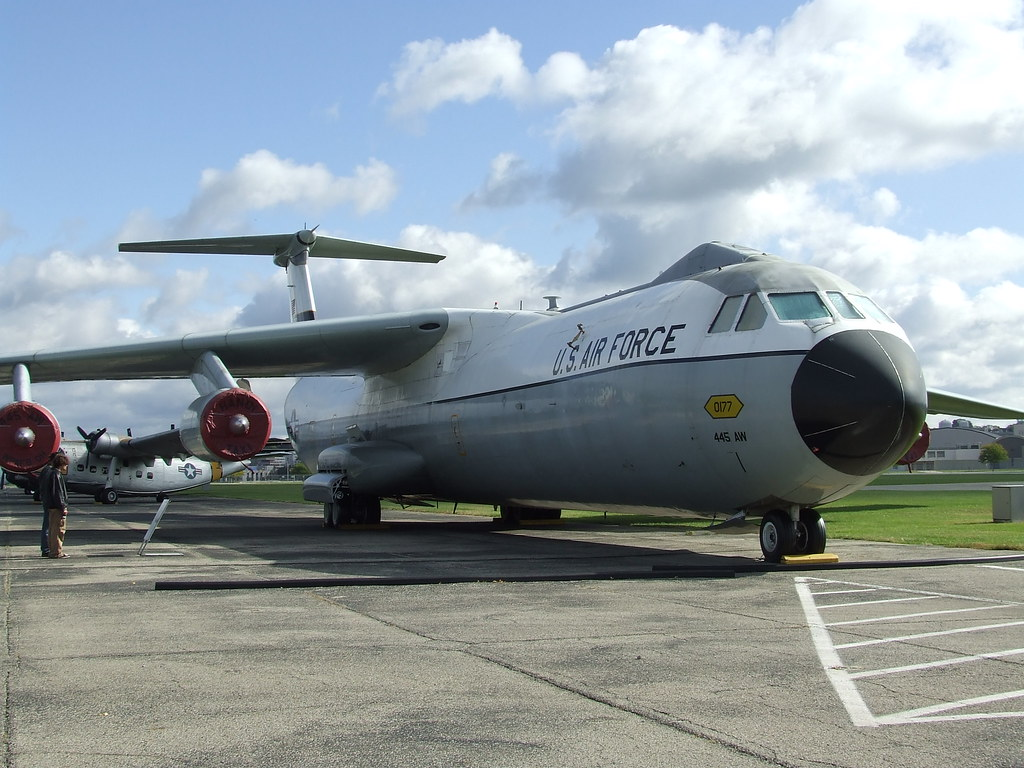 National Air Force Museum >> C-141 Starlifter | At the National Museum of the United Stat… | Flickr