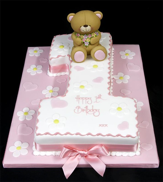 002916 medium hand cut figure one birthday cake with forev flickr. Black Bedroom Furniture Sets. Home Design Ideas