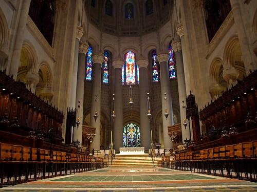 St John The Divine New York Altar And Choir Of The