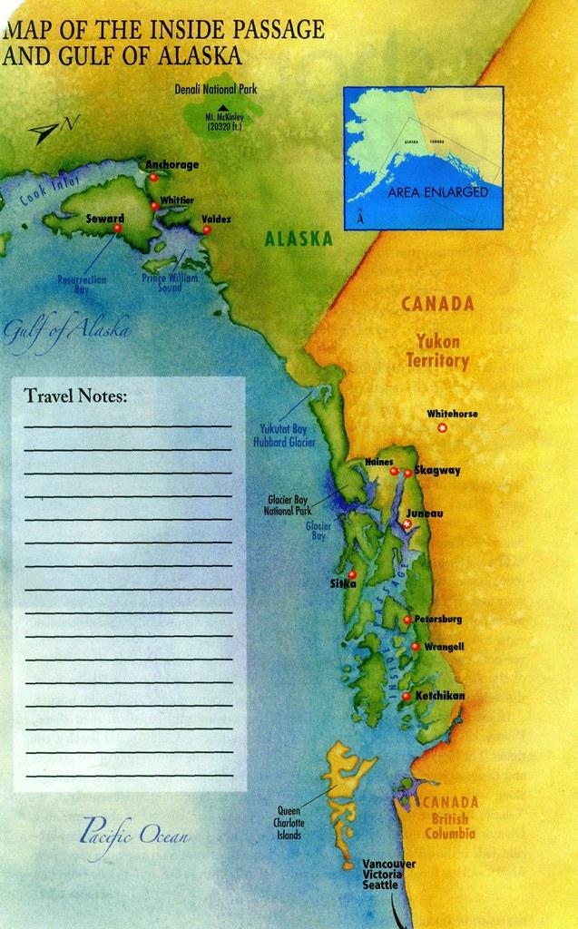 map of gulf of Alaska | maestro joan yakkey | Flickr
