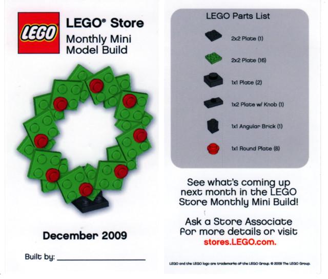 Lego Store Mini Build December