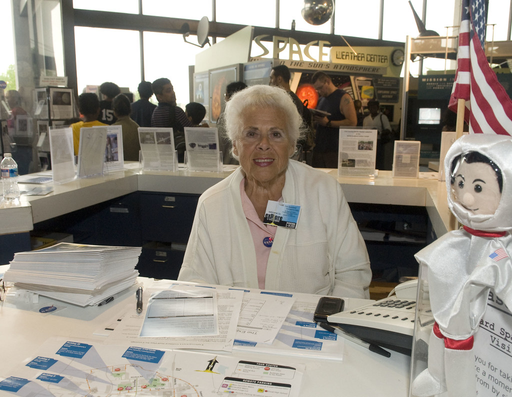 Explore @ NASA Goddard | Alberta Moran at the Visitor ...
