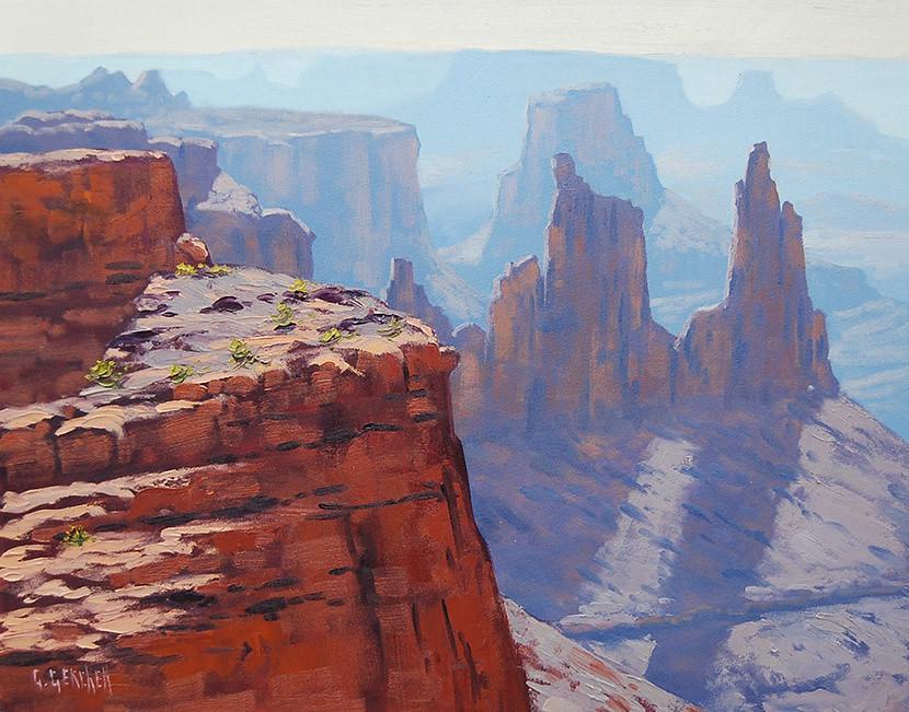 Grand Canyon Acrylic Paintings