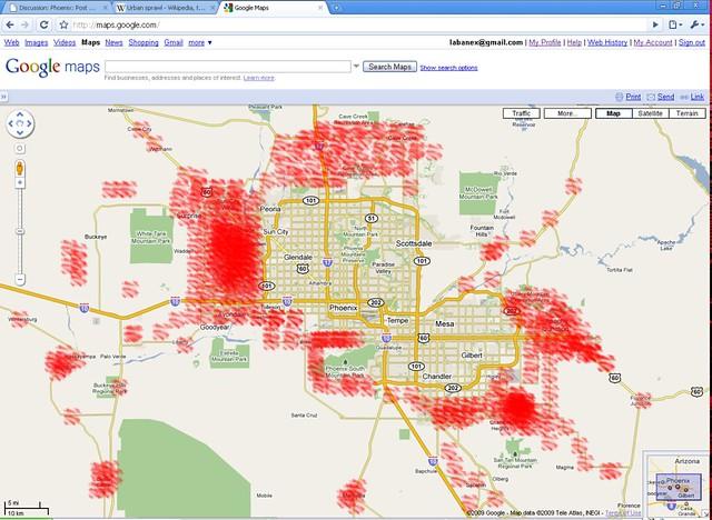 Urban Sprawl Of Phoenix AZ Area  Flickr  Photo Sharing