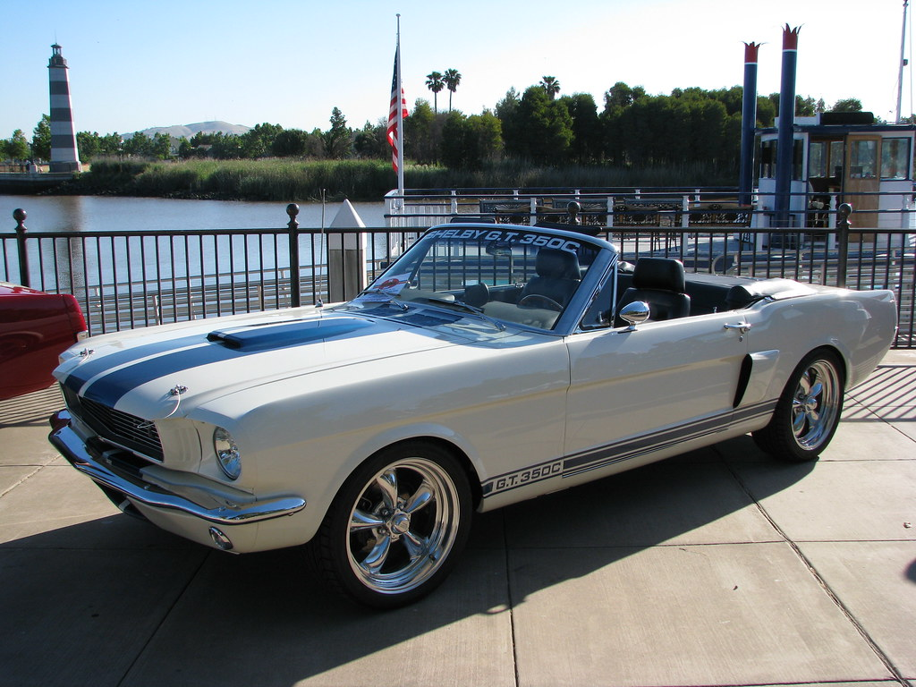 1966 Ford Mustang Shelby Gt350c Convertible Custom 1