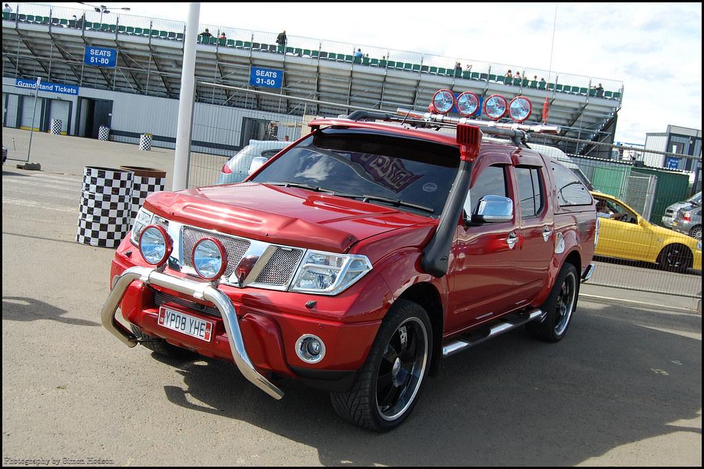 Off Road Power Santa Pod Nissan Navara Si Flickr