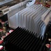 CPU and chipset heat sinks