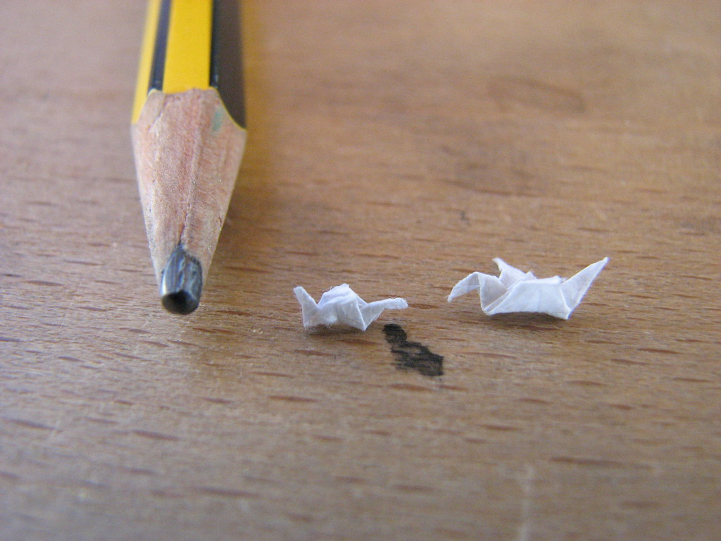 smallest drawing in the world