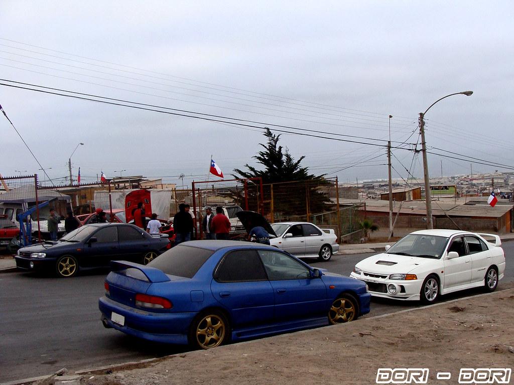 Subaru Impreza Wrx Ra Mitsubishi Lancer Evolution Iv Gsr
