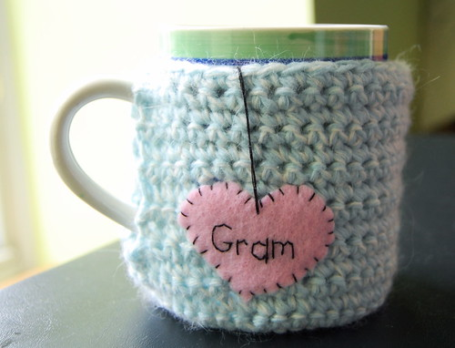 Custom Tea Mug Cozy | by KnitStorm
