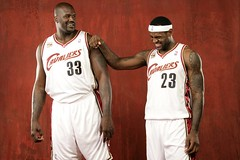Shaq/LeBron Media day 2009/10 | by Cavs History