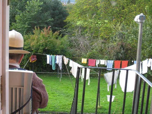 neighbor & laundry on the line | by boodely