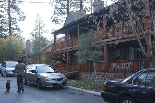 Big Bear Frontier Lodge We Stayed In A Hotel Room At The