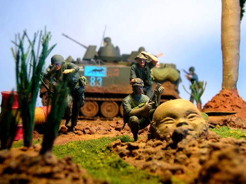 """Vietnam diorama """"Hell in the jungle"""" dio9 